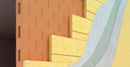 Rivestimenti esterni o il cosidetto cappotto esterno di un edificio.